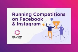 Running competitions on Facebook and Instagram