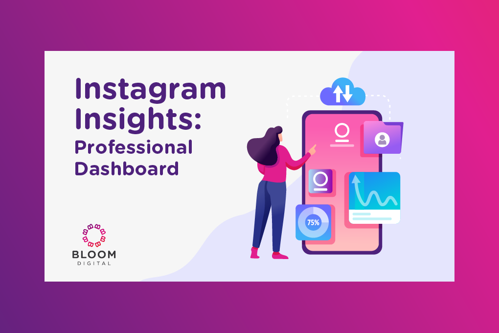 Graphic for Instagram Insights Marketing Tip