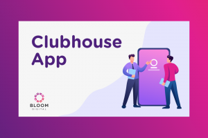 Graphic for Clubhouse App Marketing Tip