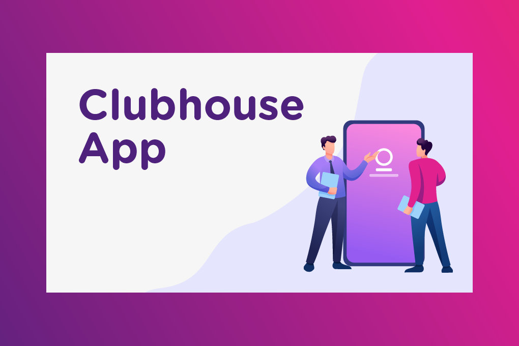 Clubhouse app graphic