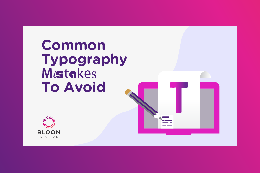 Graphic For Common Typography Mistakes To Avoid Marketing Tip