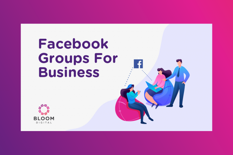 Graphic for Facebook Groups For Business Marketing Tip